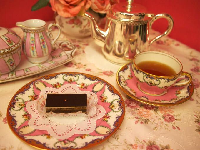 ダロワイヨのオペラと紅茶