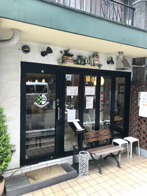 ホットケーキパーラーFru-Full 赤坂店の外観