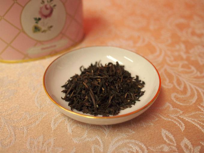 ヘレンド ブレンドダージリンの茶葉