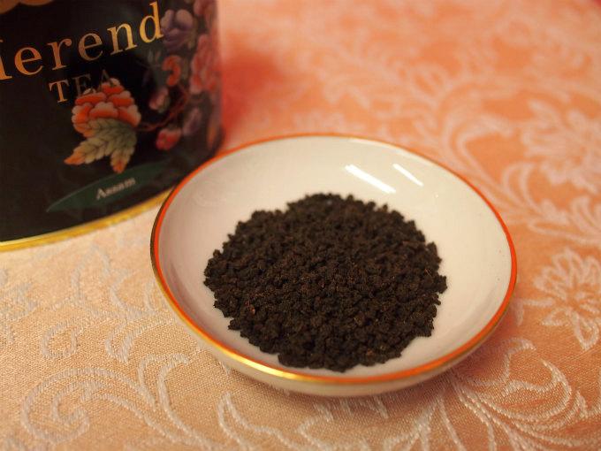 ヘレンド アッサムの茶葉