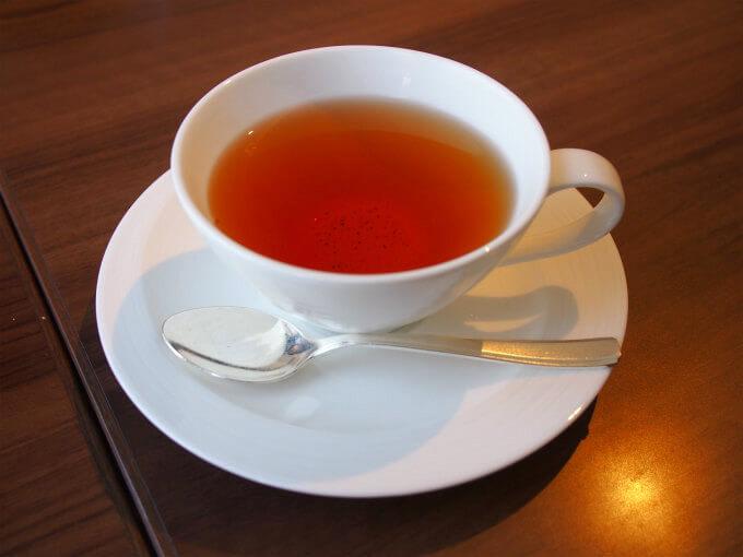 こちらは、いちごの紅茶。こちらも優しいフレーバーティー。お砂糖を入れると美味しさが増しました。
