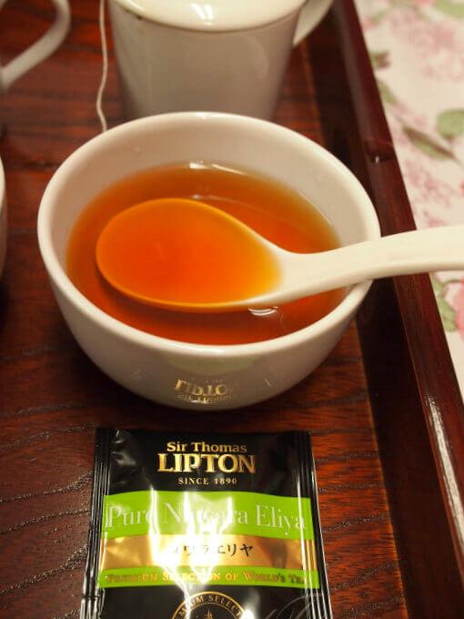 ヌワラエリヤは渋味はあったけど美味しい。華やかなヌワラエリヤらしい香りもちゃんと感じられました。