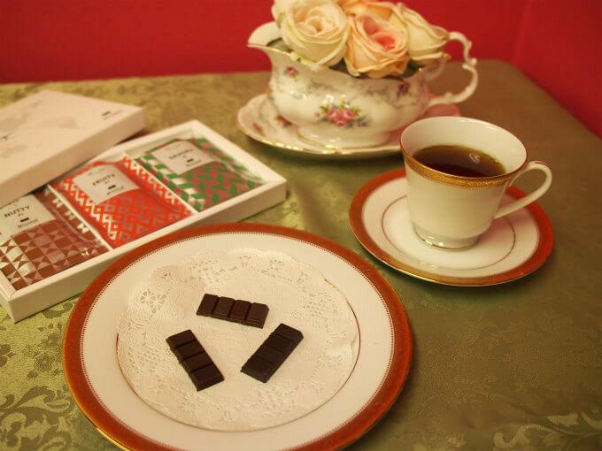 ミニマル-ビーントゥバーチョコレートと紅茶