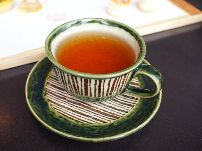 こちらは、ほうじ茶。