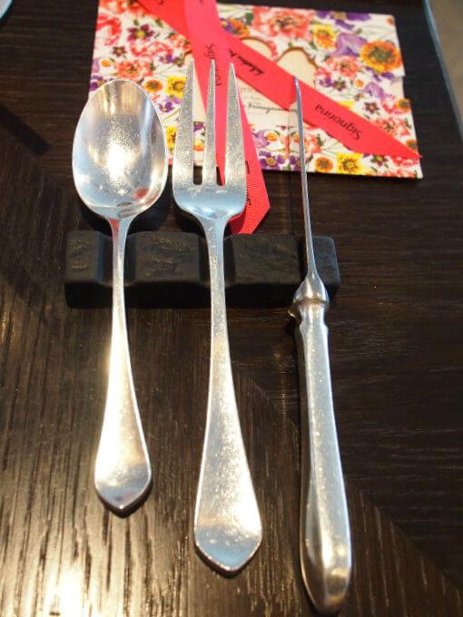 fourseasons motif2018 afternoontea cutlery