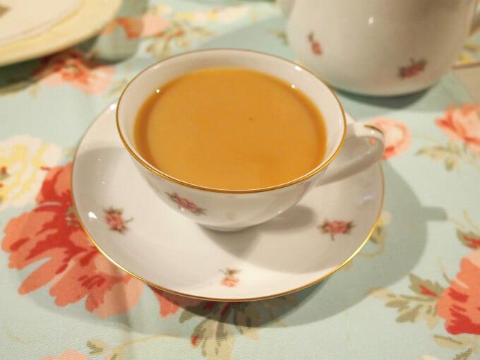 今回のアッサムはCTCのアッサム。CTCのアッサムはミルクティーにぴったりの紅茶です。