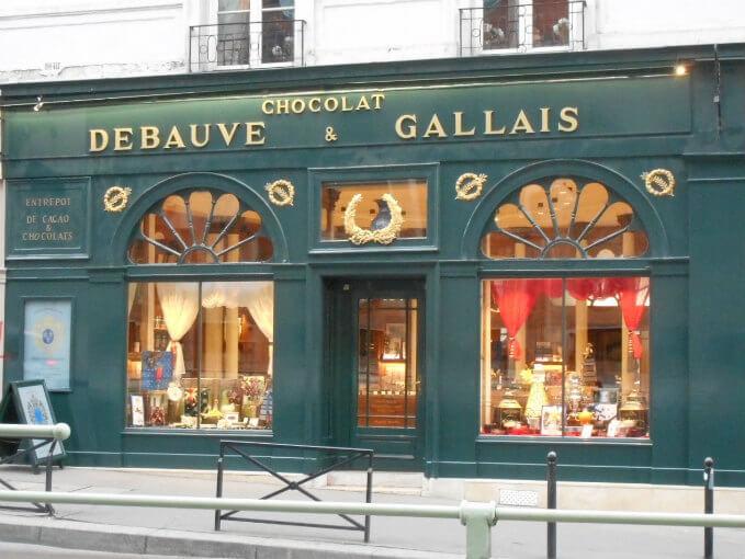 ドゥボーヴ・エ・ガレ パリ本店