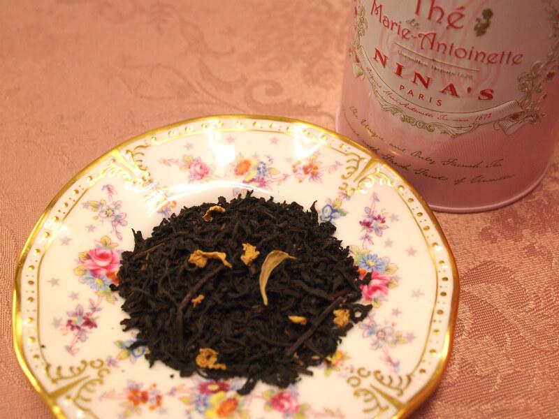 ニナス マリー・アントワネット紅茶の茶葉