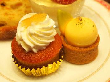 レモンケーキとタルトシトロン