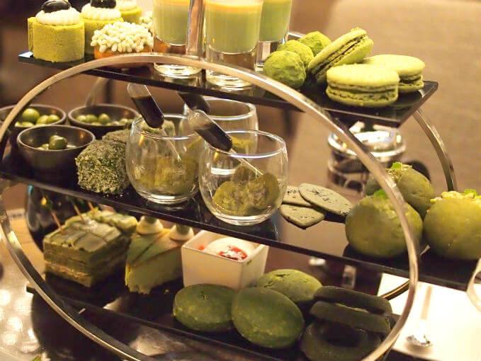 ana maccha afternoontea middle sweets