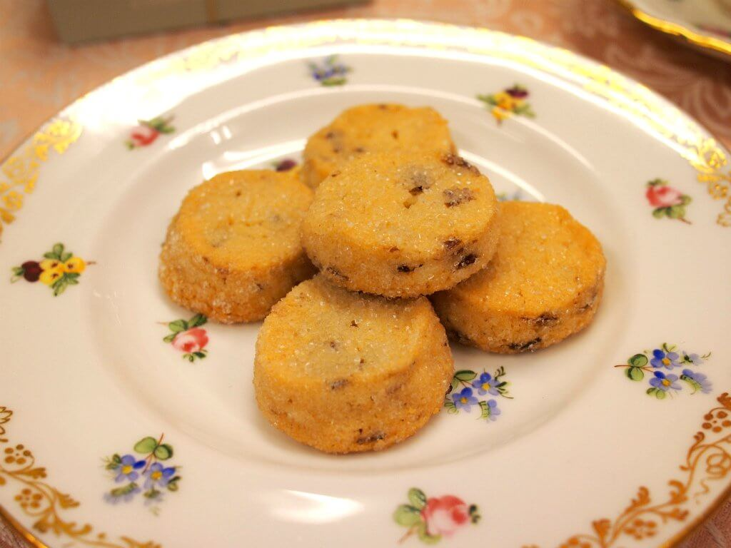 クッキーも最高の組み合わせのひとつ。こちらはブルトンヌのクッキーです。