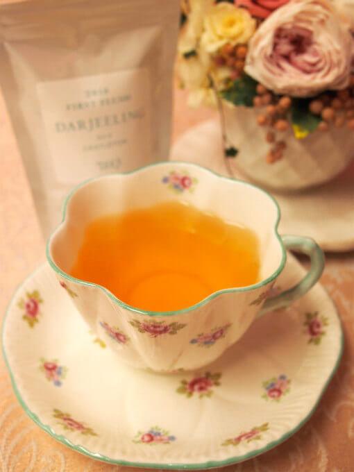渋みがすごく強いイメージのキャッスルトン茶園のダージリンですが、こちらはほどよい渋みで飲みやすいダージリンファーストフラッシュでした。