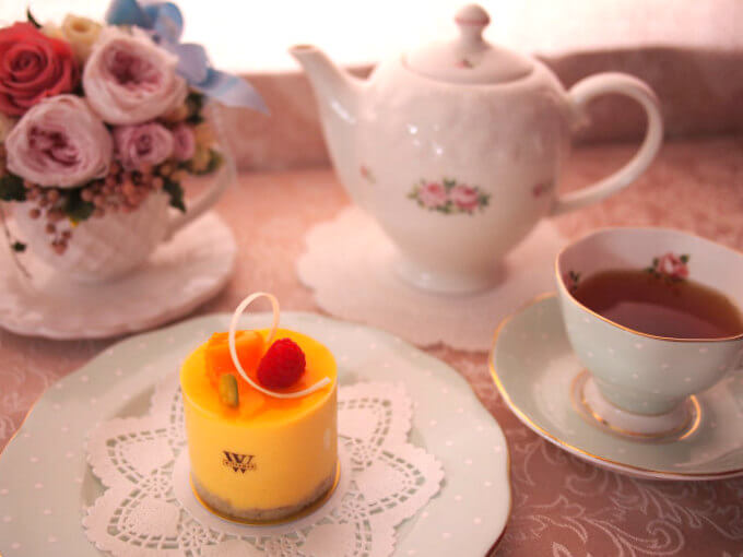 WITTAMER(ヴィタメール)のマンゴーフランボワーズと紅茶