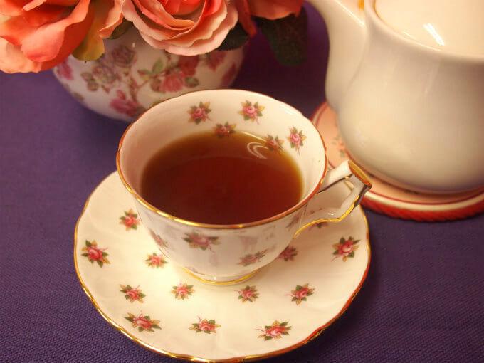 ニルギリは柑橘系の香りがほんのりするスッキリした紅茶