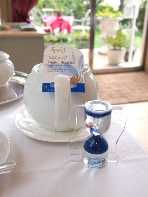 紅茶ロンネフェルトのものでした。