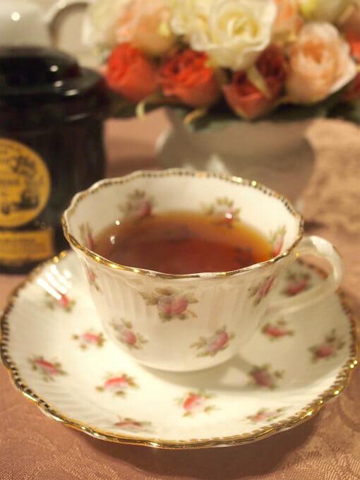queen alice cheesecake tea1