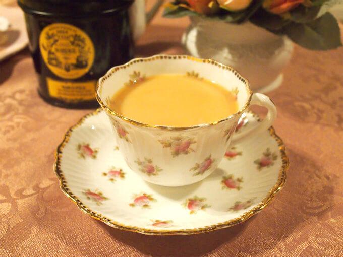 マルコポーロはミルクティーによく合う紅茶です。