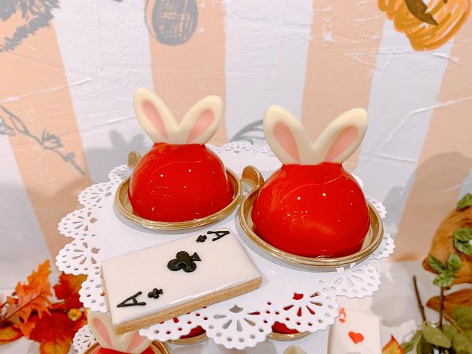 ウサギの紅茶ムース