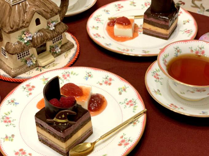 WITTAMER(ヴィタメール)のハロウィン・オペラと紅茶
