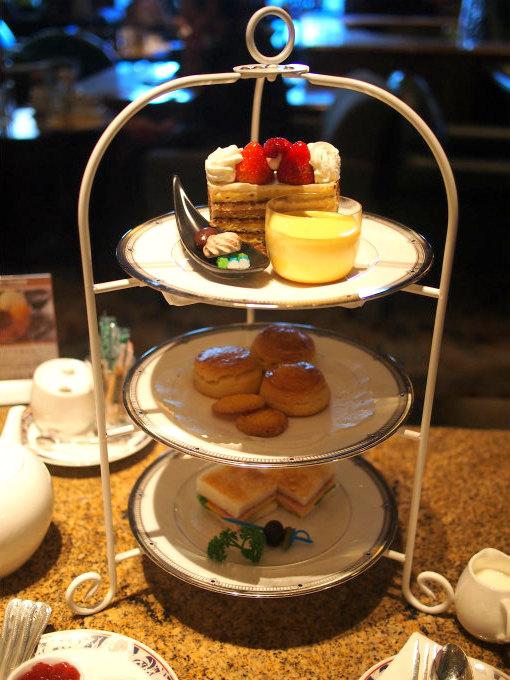 ホテルイースト21東京「ロビーラウンジ」のアフタヌーンティーセット「フェアリープレート」