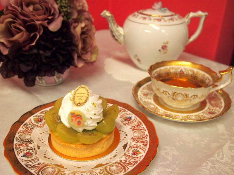 ラデュレの「ル・ミュスカ」と紅茶