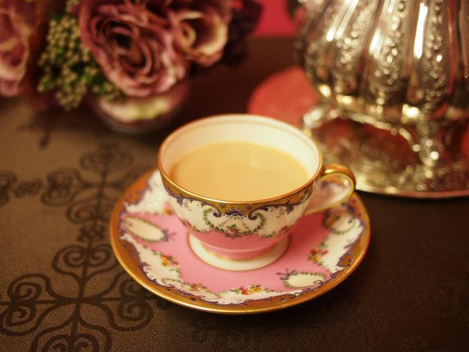 アッサムはミルクティーによく合う紅茶です。