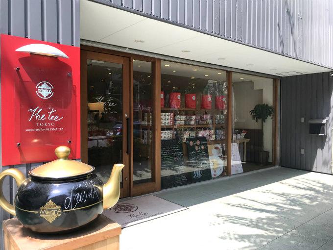 神楽坂のムレスナティー専門店