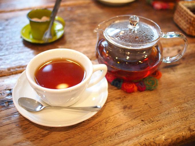 こちらはスウィートオレンジティ。ナチュラルなオレンジの香りがする美味しい紅茶です。