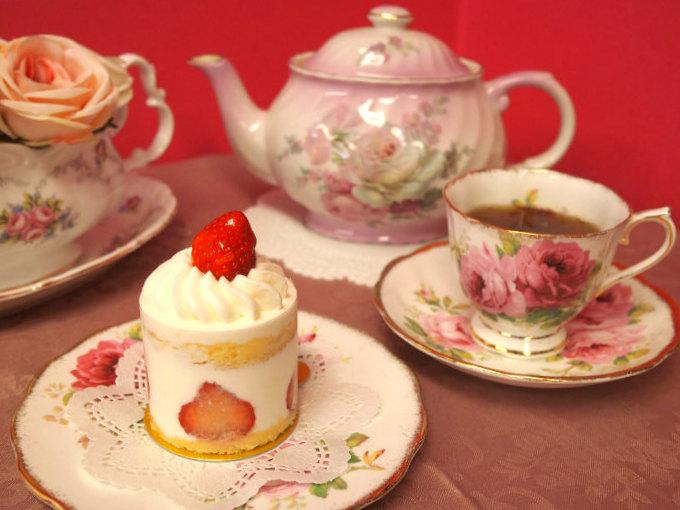 WITTAMER(ヴィタメール)のフレーズ・ド・ヴィタメールと紅茶