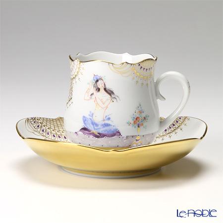 マイセン アラビアンナイトのカップ&ソーサーの写真