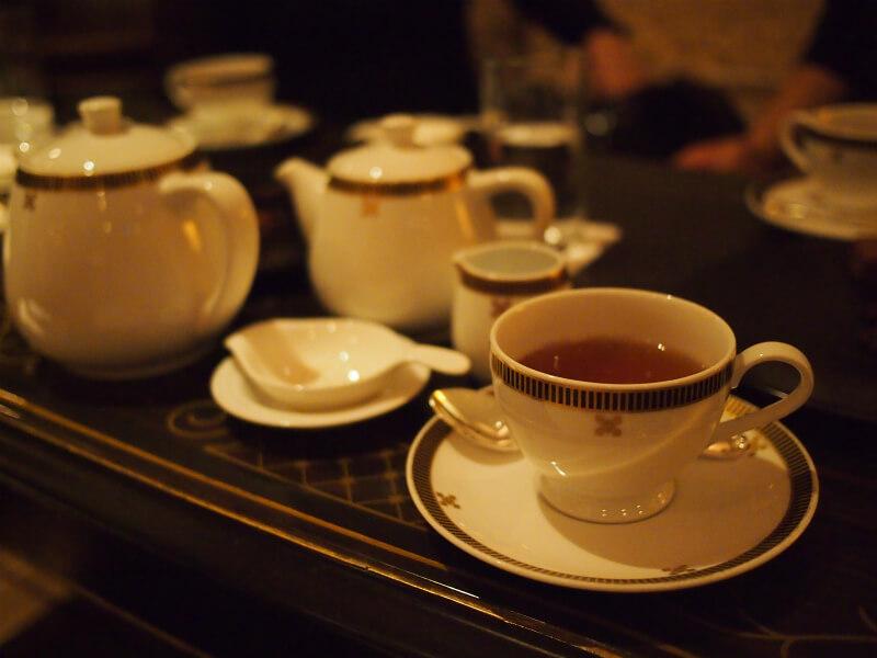 「インペリアルラウンジ アクア」は日本紅茶協会認定の「おいしい紅茶のお店」です。