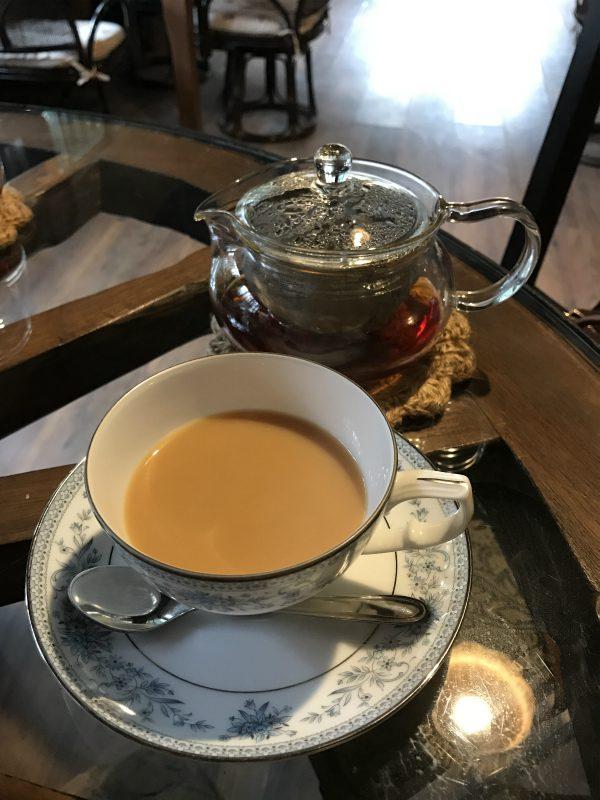紅茶はダージリン、アッサム、アールグレイ、レディグレイの4種類。こちらはアッサムです。