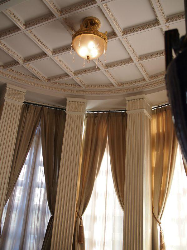 サンルームの素敵な天井