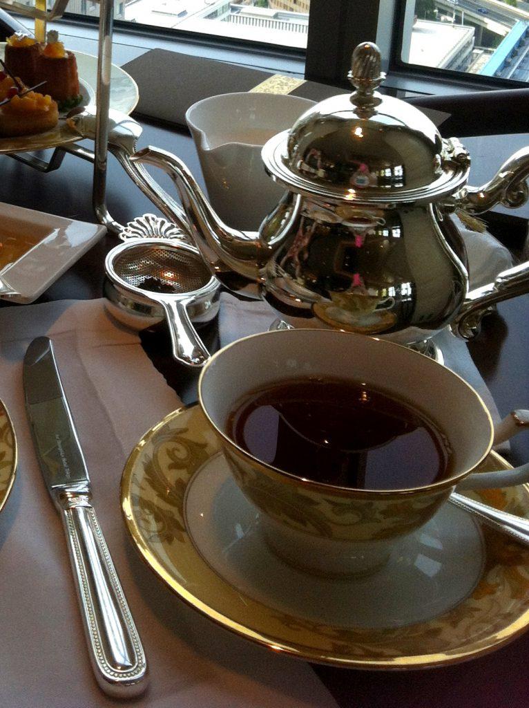 Shangri La fauchon afternoontea tea