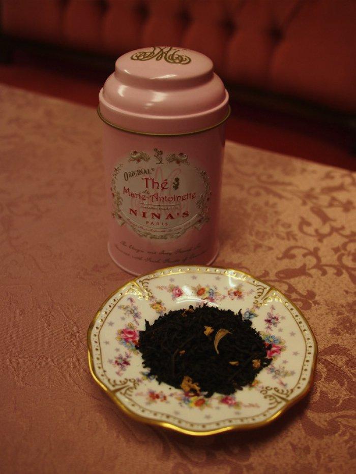 ニナスのマリー・アントワネット紅茶