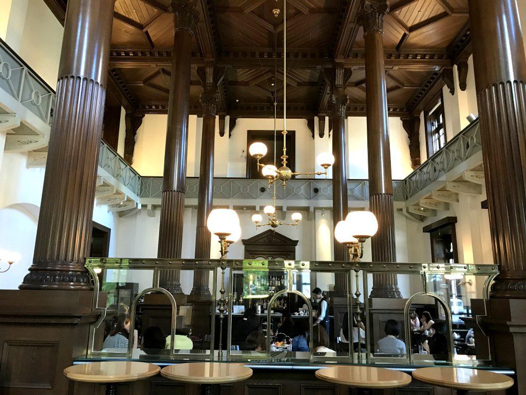 三菱一号美術館cafe1894のエントランス