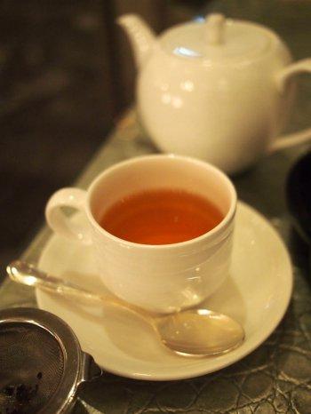 インターコンチネンタル東京ベイのニューヨークラウンジの紅茶