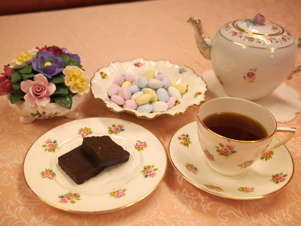 チョコレートとウバ
