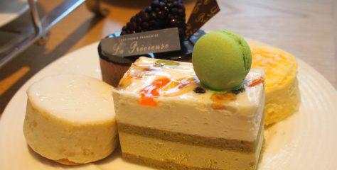 laPrecieuse Kioicho afternoontea sweets