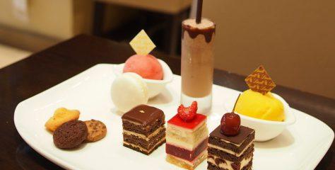 lindt chocolat cafe afternoontea set