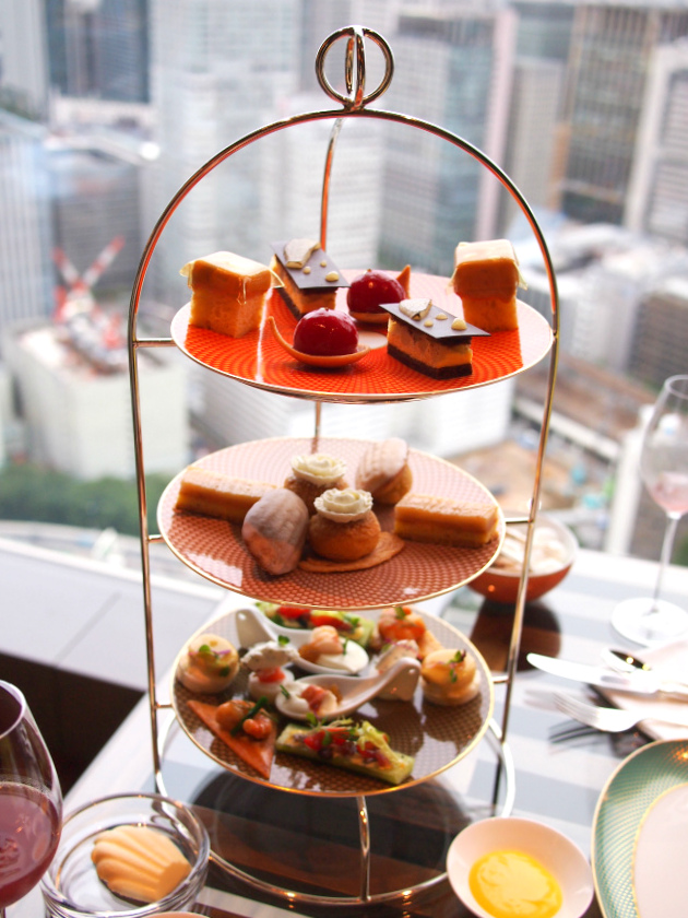 mandarinoriental 2017fall afternoontea set