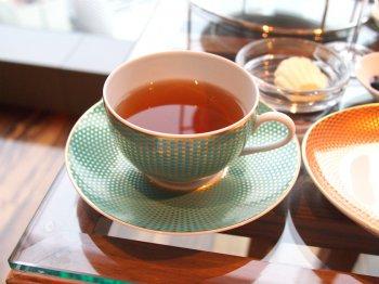 こちらはシーズナルティー。この日はりんごの紅茶でした。