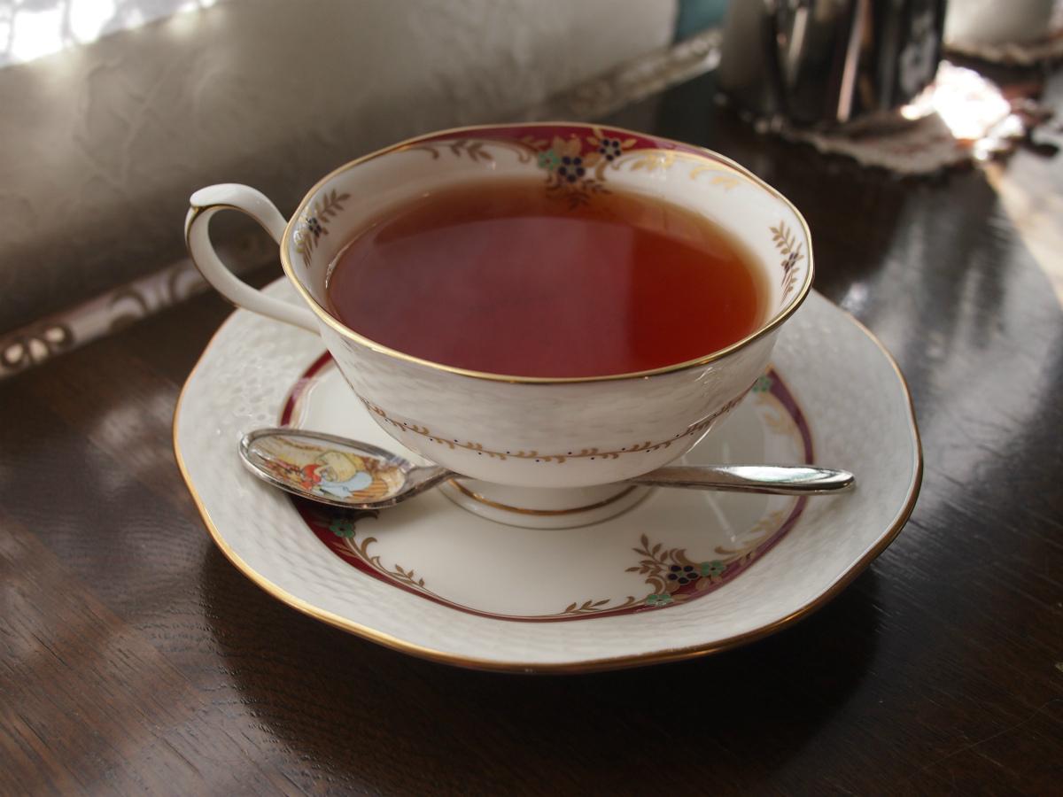 紅茶はディンブラでした。