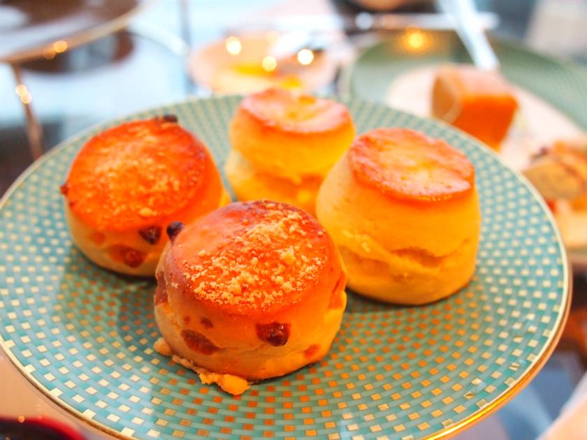 mandarinoriental 2017fall afternoontea scone