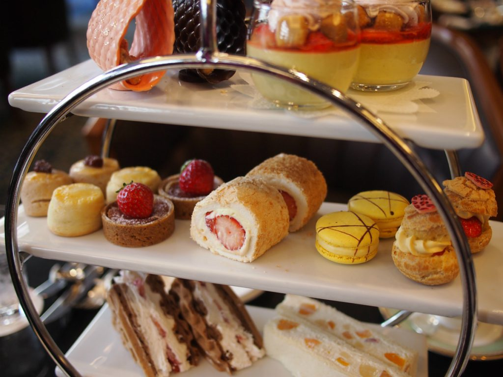royalparkhotels afternoontea pastry