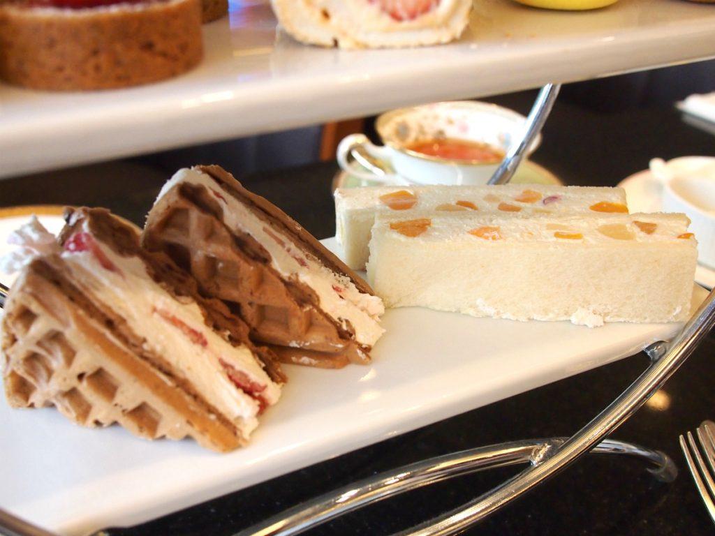 royalparkhotels afternoontea sandwich