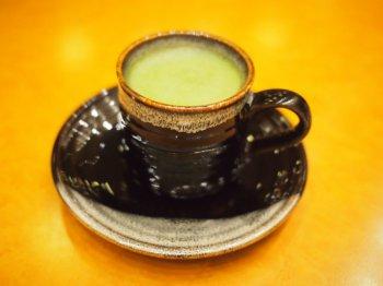 こちらはウェルカムティーの抹茶