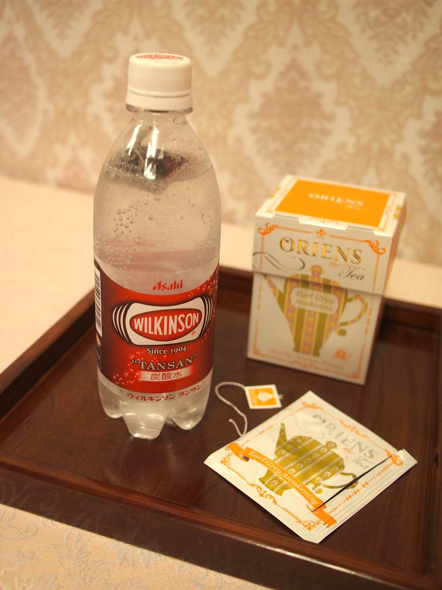 ティーバッグの紅茶は取り出さなくていいので、タグは切ってからペットボトルに入れるといいです。
