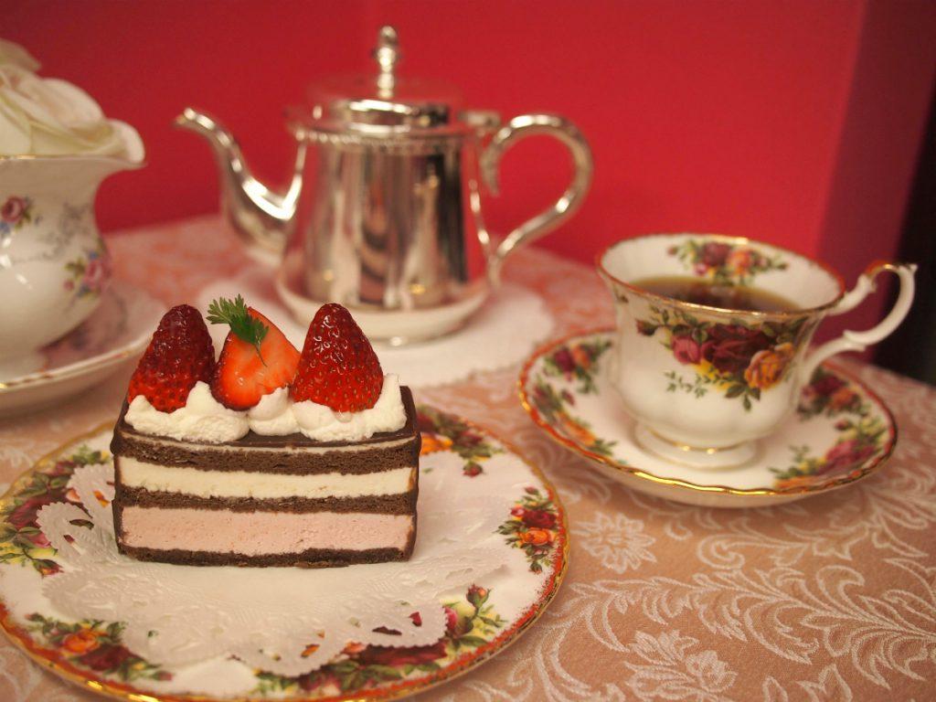 ヴィタメールのジェルメと紅茶