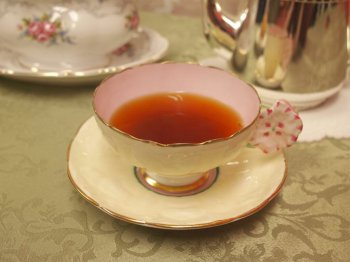 キャンディはクセがなく飲みやすい紅茶です。